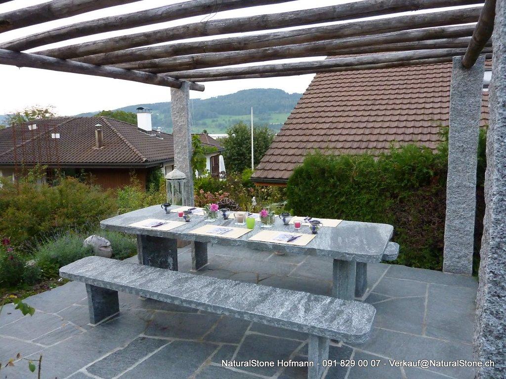 Tisch Classico Stützten gerade